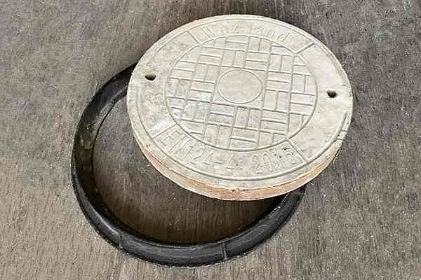 Wuzland® steel fiber concrete manhole covers Φ600x60